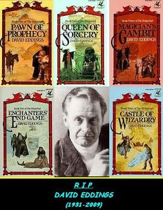 David Eddings The Belgariad Series is a great way to start reading fantasy fiction...right behind Harry Potter