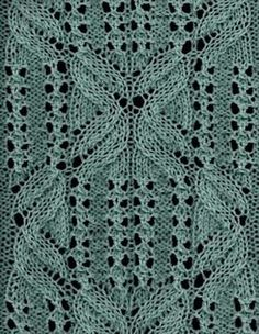 Frog Legs - Knittingfool Stitch Detail. GORGEOUS stitch!
