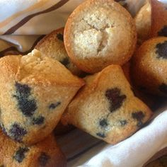 "Gluten Free Blueberry Muffins | ""We try a lot of gluten free muffins and these have been our favorite so far."""