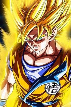The golden warrior, Goku. #DBZ