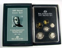 1997 PROOF COIN SET CHARLES KINGSFORD SMITH J1611