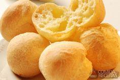 Receita de Pão de queijo goiano - Comida e Receitas