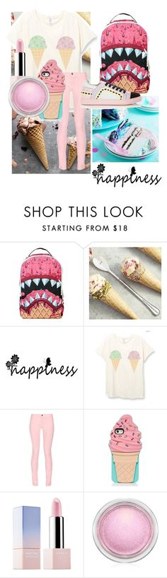 """""""ice cream outfit"""" by mymusicrocks ❤ liked on Polyvore featuring Sprayground, Maison Kitsuné, Kate Spade, Sephora Collection, MAC Cosmetics, Sophia Webster and icecreamtreats"""