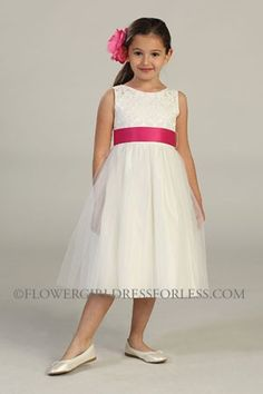 Girls Dress Style 394- OFF WHITE BUILD YOUR OWN DRESS!