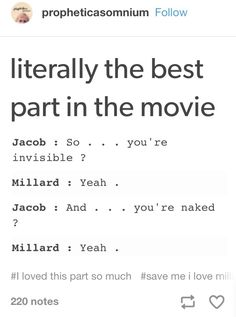 You mean the ONLY good part in the movie