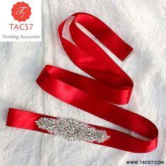 Handmade Wedding Belt Crystal Sparkly Sash Belt Women Luxury Rhineston – Trending Accessories