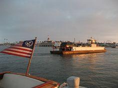 Balboa Island Ferry- $1 ride to carousel and Ferris wheel rides from Newport Beach