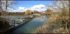 The River Thames at Benson Weir - iPhone panorama | Flickr - Photo Sharing!
