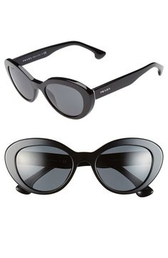 Prada 53mm Cat Eye Sunglasses   Nordstrom