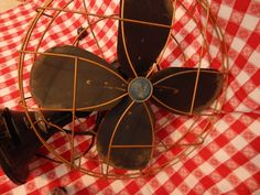 Vintage Electric Fan Emerson Tilt and Rotate by AlwaysPlanBVintage on Etsy