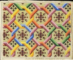 This pattern is seen on the sandpiper sampler.