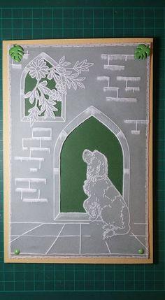 Parchment Design, Parchment Cards, Sympathy Cards, Type 3, Card Making, Paper Crafts, Facebook, Frame, Pattern
