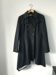 Trelise Cooper Black Trench Styled Fashion Coat in Clothing, Shoes, Accessories, Women's Clothing, Coats, Jackets | eBay