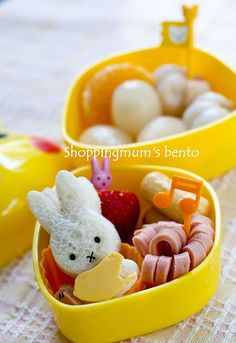 obsessed with miffy bentos!