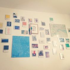 Pic wall is up.... Moving isn\t fun.