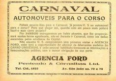 1920 - Anúncio na revista A Cigarra.