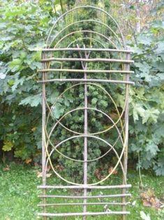 Arbors Trellis, Diy Trellis, Garden Trellis, Garden Fencing, Deer Garden, Garden Art, Garden Design, Bathroom Plants, Unique Gardens