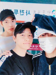 Hyungwon, Changkyun and Minhyuk
