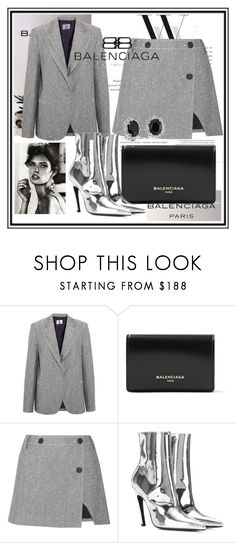 """""""""""Simplicity is the keynote of all true elegance."""""""" by bernotaitegg ❤ liked on Polyvore featuring Balenciaga, Topshop Unique, Dolce&Gabbana and Blue Nile"""