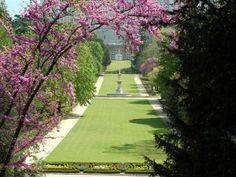 Campo del Moro, jardines junto al Palacio Real de Madrid (España)