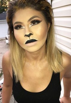 Monkey makeup look. Halloween makeup | Bitz_of_glamour | Pinterest ...
