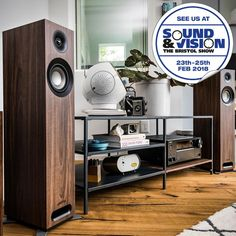 Come hear the Jamo Studio 8 S 805 at Sound & Vision The Bristol Show from 23rd - 25th February, in Room 416. https://www.henleyaudio.co.uk/products/Jamo-Studio-S-805