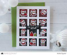 Mama Elephant Stamp Highlight | Little Santa Agenda | you just gotta believe | Nichol Spohr