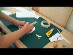 How to make a designer handbag pattern: The Flap/3B