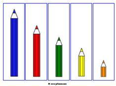 Fichas que trabalham conceitos matemáticos: seriação, sequência, quantidade, tamanho… | Fonoaudiologia e Educação File Folder Activities, Sequencing Activities, Infant Activities, Kindergarten Activities, Book Activities, Autism Activities, Math For Kids, Fun Math, Cute Powerpoint Templates