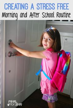 How to Create a before and after school routine designed to reduce stress. Sponsored by Jimmy Dean® and State Fair® #fuelforschool