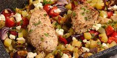 Tzatziki, Feta, Rice, Chicken, Mango Salad, Salads, Laughter, Jim Rice, Cubs