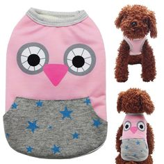 STAR-TOP Cute Dog Vest Warm fleece cat coat pajamas for Small Dogs Dress *** Don't get left behind, see this great cat product : Cat Apparel