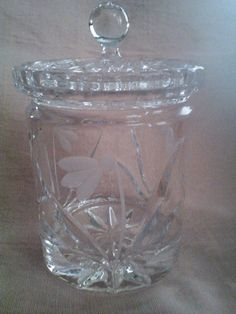 Lead Crystal Honey Or Marmalade Jar By Arizonamarmalade 35 00