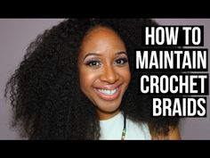 How to Curl Crochet Braids | Marley Hair | Janet Collection Noir - YouTube