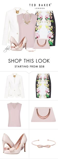 """""""Ted Baker total look"""" by dgia ❤ liked on Polyvore featuring Ted Baker"""