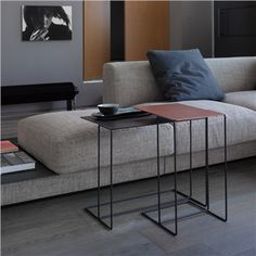 Walter Knoll Oki Bunching Table - Style # 131-Tx, Modern Small Table – Contemporary Small Table – Small Tables – Small Side Table | SwitchModern.com