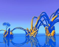 Arches by Roger Dean