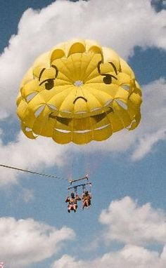 Parasailing- I had a similar parachute. Glad I convinced my mom to do it with me while in Mexico = ) Also did it in the Keys