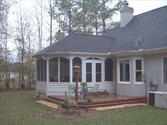 Sunrooms, Room additions and Family room addition on Pinterest