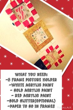 Just a very simple, inexpensive way to spice up the holidays!