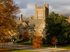 Duke University | Durham, NC | Medium-sized suburban research university in central NC. Known for it's commitment to the undergraduate experience, abundant research opportunities, and an emphasis on civic and global engagement. Duke has two undergraduate colleges: Trinity College of Arts & Sciences (49 majors, 51 minors) and Pratt School of Engineering (Biomedical, Civil/Environmental, Mechanical/Materials, Computer/Electrical)