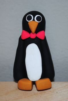 Penguin (made out of Sculpey clay)