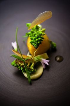 Beautiful dish - scallops romanesco madras curry by Chef David Toutain #truefoodies #fortruefoodiesonly