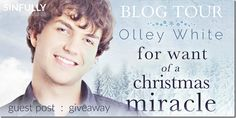 FWOACMBlog Tour: For Want of a Christmas Miracle by @LorixGlic with Guest Post & #Giveaway | @sinfully_mmblog
