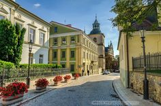 Ulica Mariacka » Sandomierz Central Europe, Old World, Castle, Romantic, Mansions, Landscape, House Styles, City, Pictures
