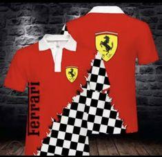 Ferrari, Polo Ralph Lauren, Polo Shirts, Mens Tops, Collection, Diys, Bricolage, Do It Yourself, Polo