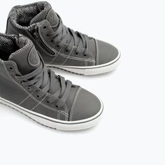 Image 2 of TOPSTITCH SNEAKER from Zara