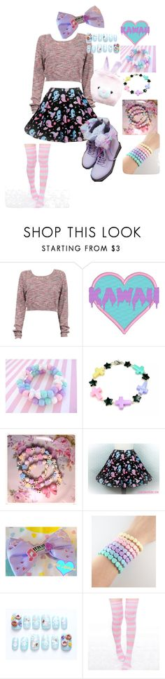 """""""Fairy kei"""" by bonjour-its-ally ❤ liked on Polyvore featuring GET LOST"""