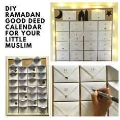 Create your own good deed calendar for Ramadan with this easy guide and start a new tradition! Your little Muslims will enjoy this all throughout Ramadan!