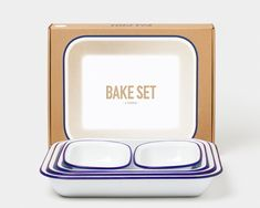 Baking Set, Baking Pans, Baking Dishes, Dining Set For Sale, Dining Sets, Falcon Enamelware, The Bride, Whole Roasted Cauliflower, Roasted Chicken Breast